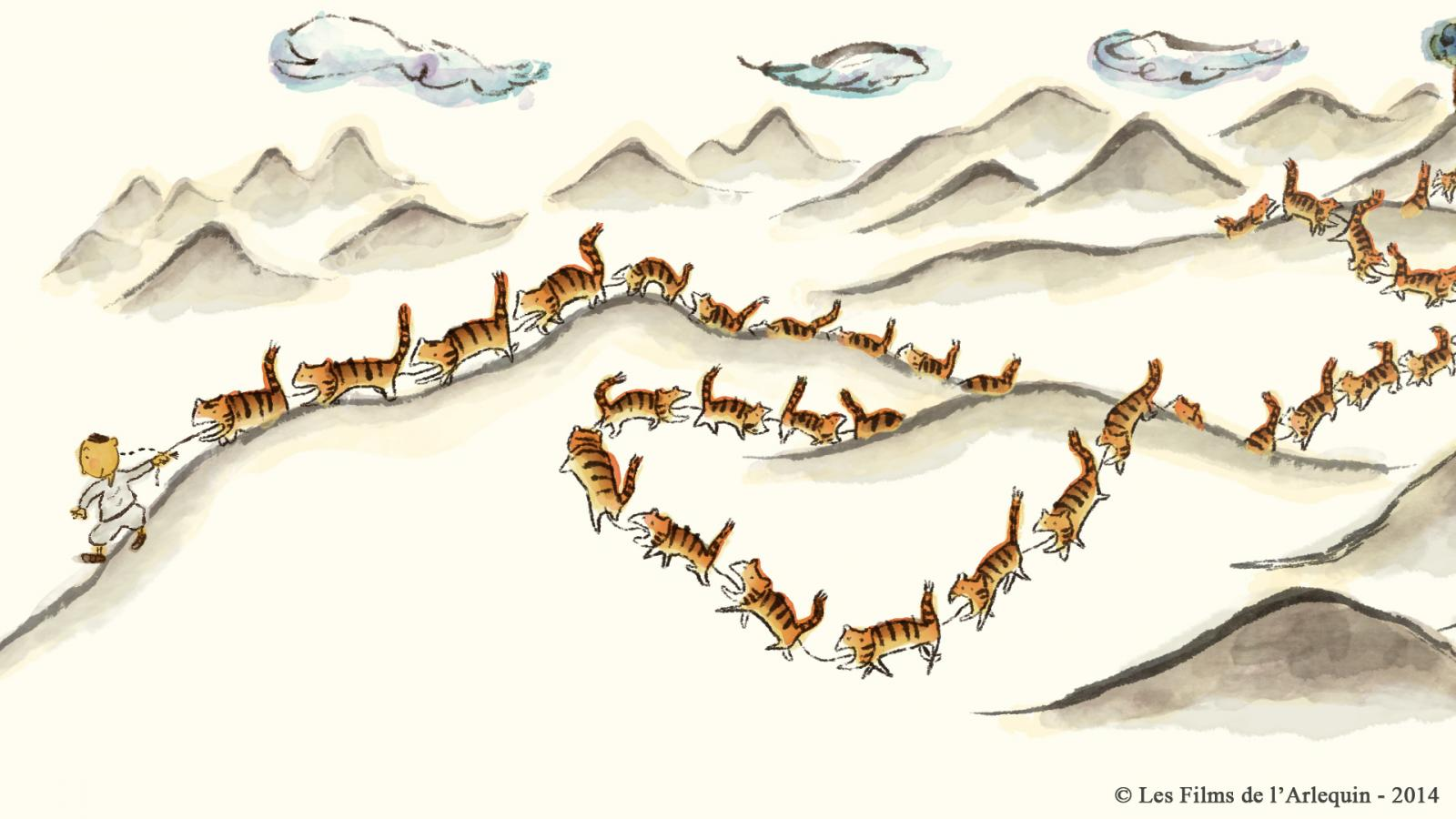 Court métrage Tigres à la queue leu leu