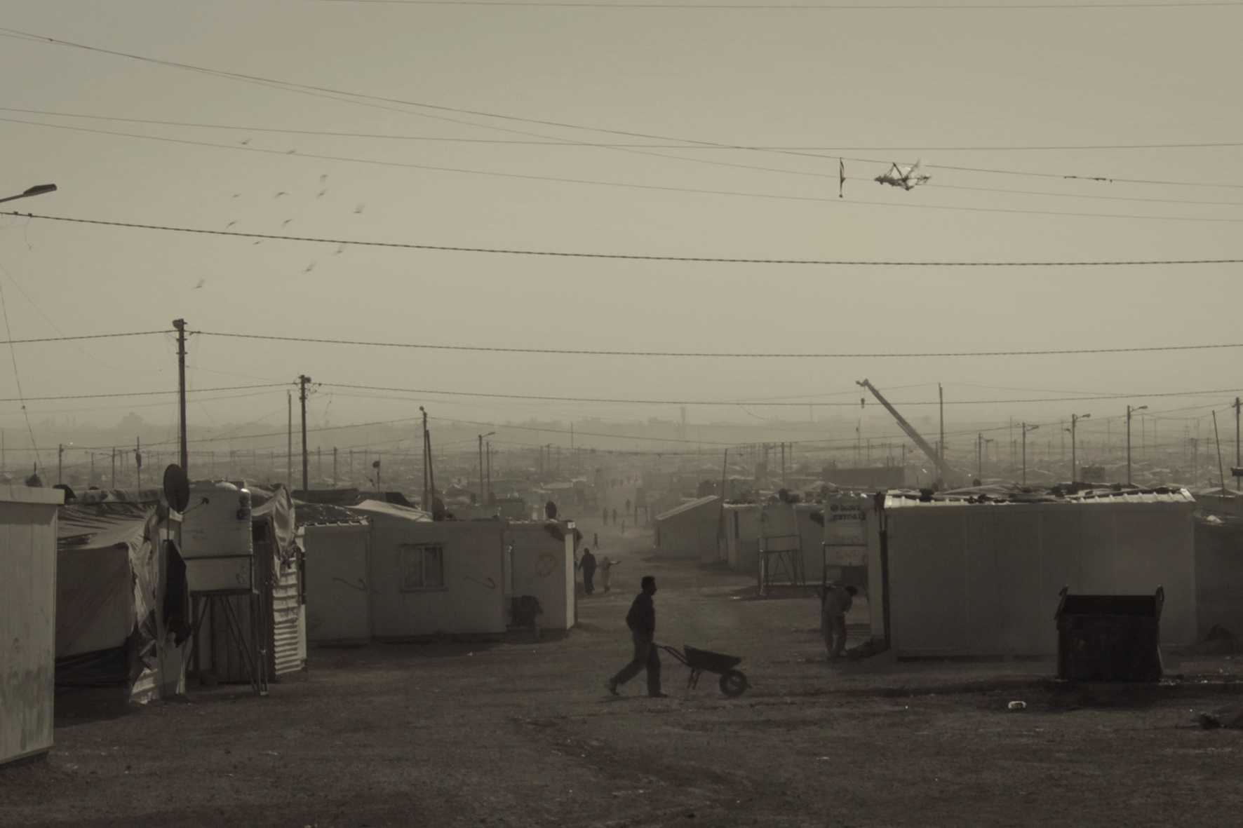 Court métrage Kachach, au-dessus de Zaatari