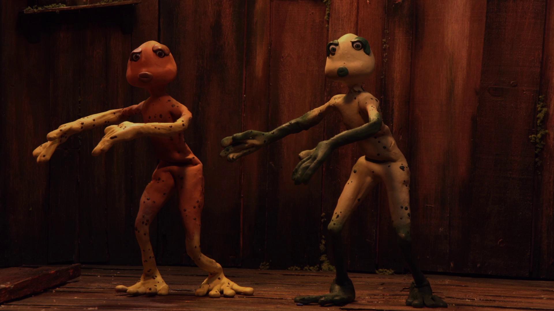 Court métrage Le chant des grenouilles