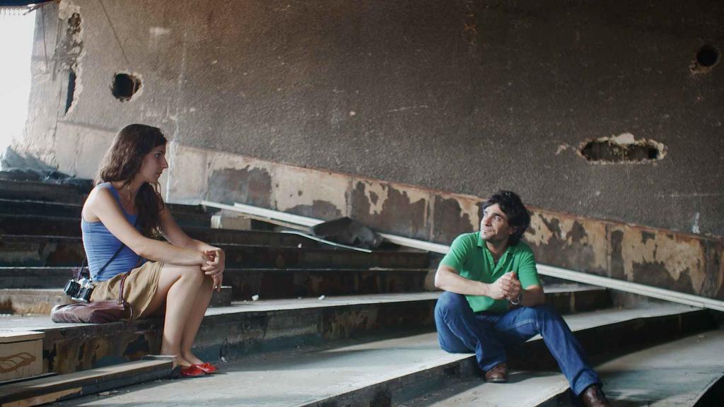 Court métrage LES CERISES DU BATEAU de Sarah Hatem (2012)
