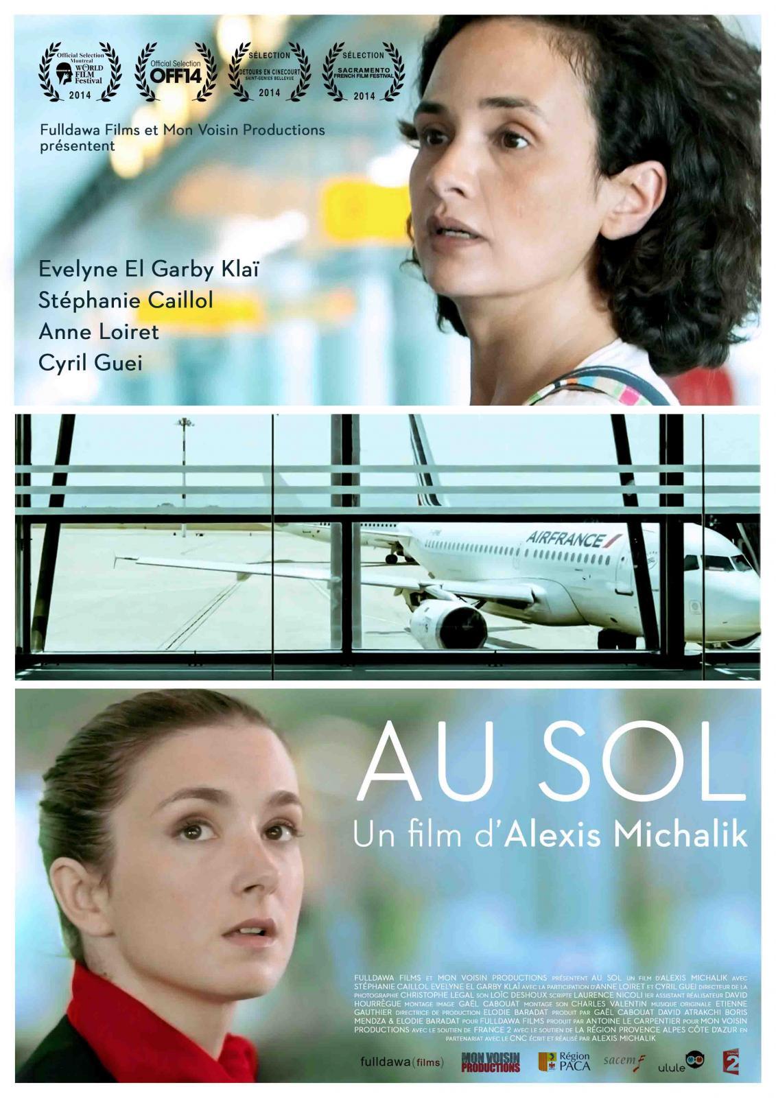 Court métrage Au sol de Alexis Michalik (2013)