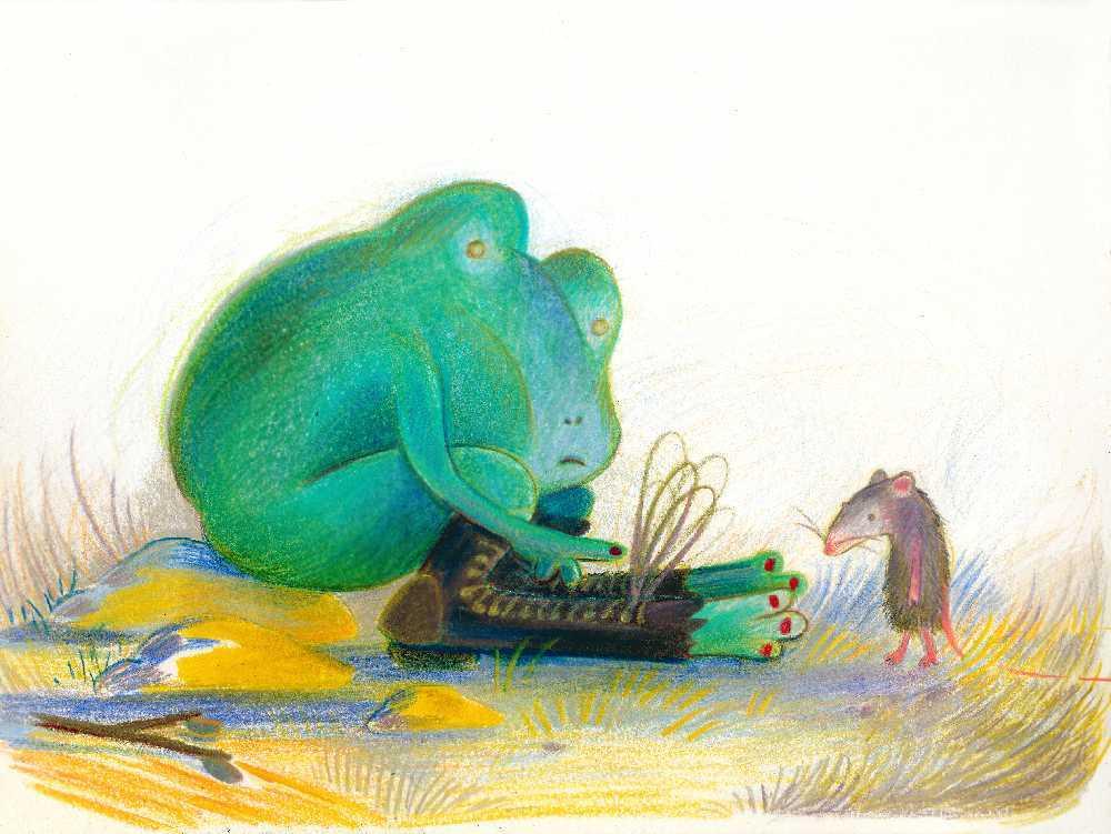Court métrage La grenouille aux souliers percés