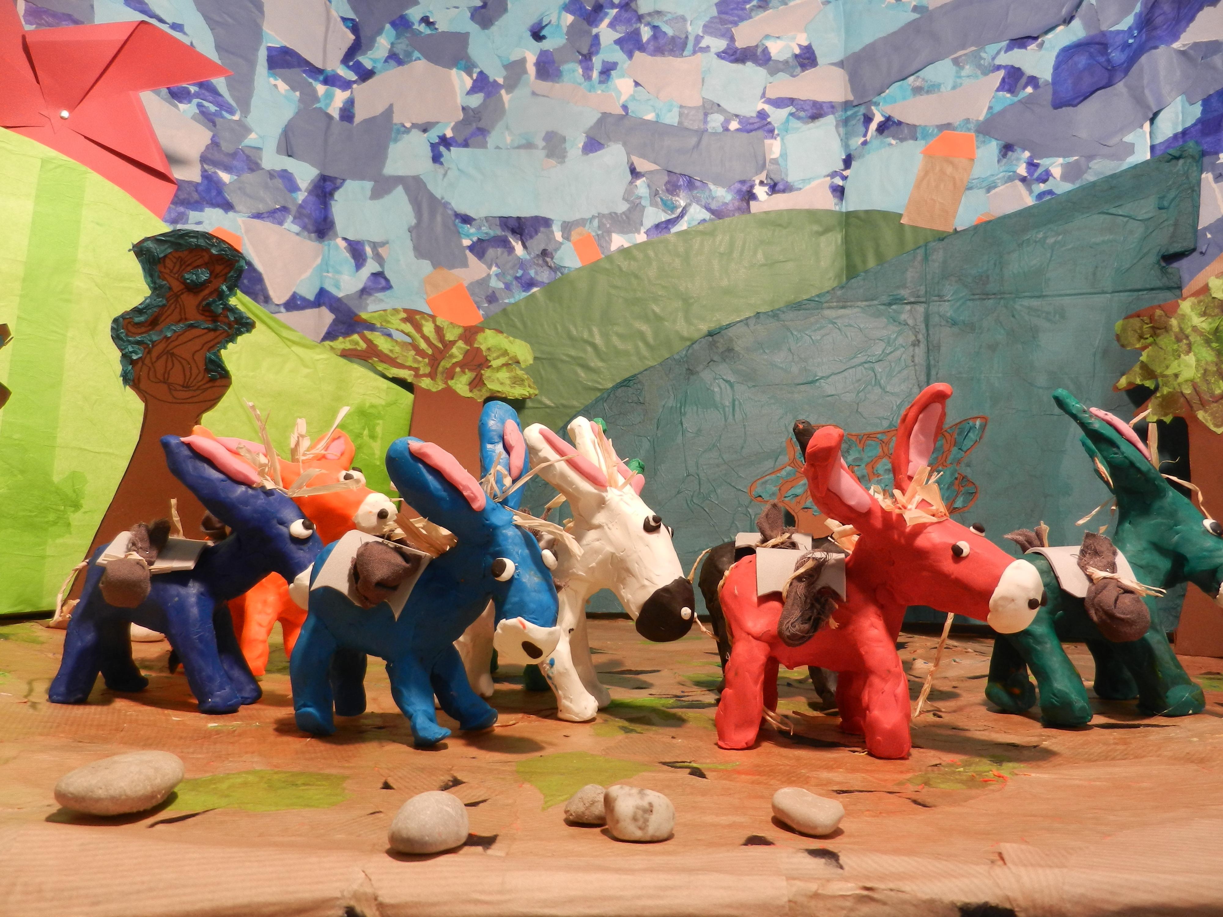 Court métrage Nasreddine et ses ânes