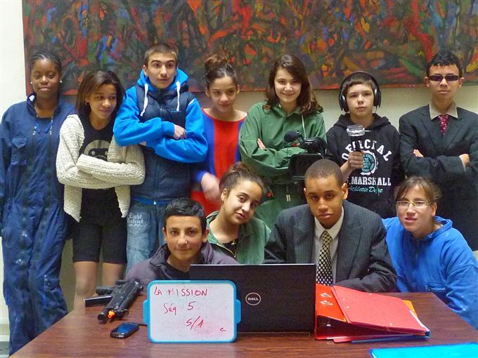 Court métrage Une nouvelle mission pour Ulysse 13 de Classe d'ULIS, collège Aimé Césaire (2013)